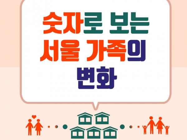'숫자'로 보는 서울 가족의 변화 이미지
