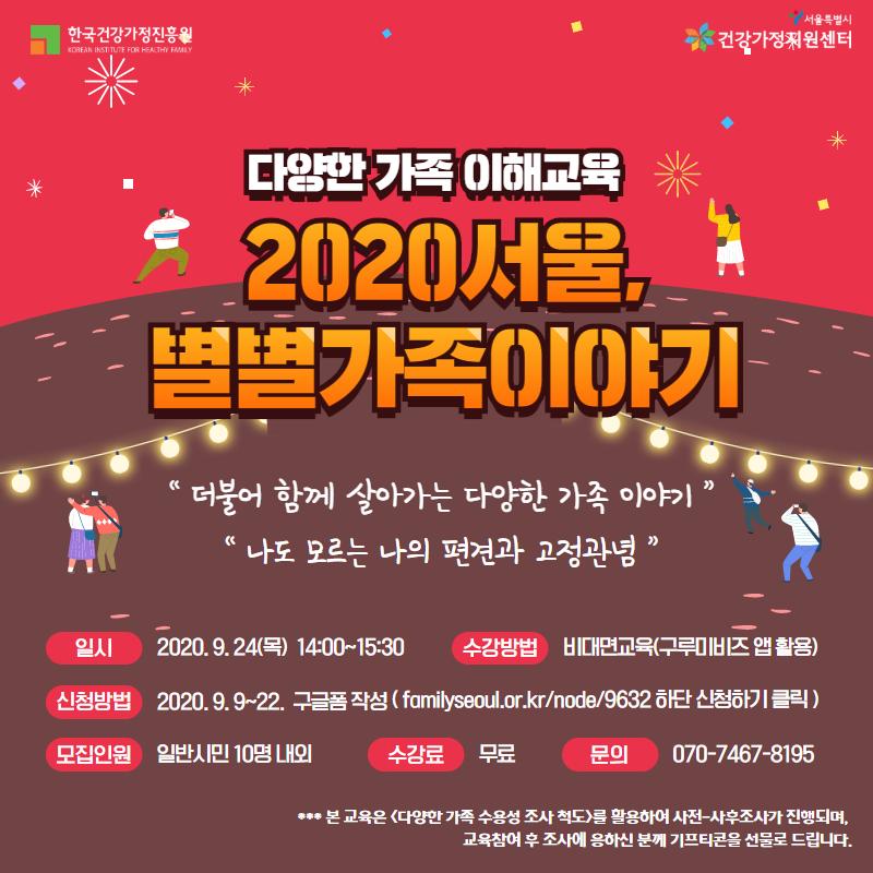 2020 서울, 별별이야기